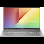 Laptop ASUS 15.6'' VivoBook 15 X512FA, FHD, Intel Core i3-8145U, 8GB DDR4, 256GB SSD, GMA UHD 620, No OS, Transparent Silver