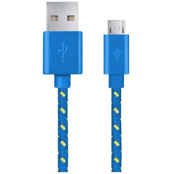 Cablu ESPERANZA EB181B MicroUSB 2.0 A-B 2m Albastru eb181b - 5901299920138