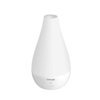 Umidificator aer, putere 12 W, capacitate rezervor apa 0.7 litri, capacitate umidificare 80 ml/h, doua niveluri de reglare a intensitatii aerului, nivel zgomot 30 dB