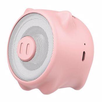 Boxa portabila bluetooth Baseus Pig E06 3W Pink nge06-04