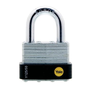 Lacat din otel lamelar Yale Y115/30/117/1, cu cheie, corp de 30 mm