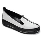 Pantofi FLAVIA PASSINI albi, 1471457, din piele naturala