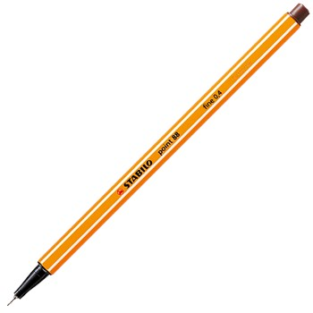 Liner Stabilo Point 88,0.4mm,maro