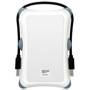 Hard disk extern Silicon Power Armor A30 1TB 2.5 inch USB 3.0 White