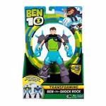 Figurina Ben 10 Transforming,Shock Rock , 18cm