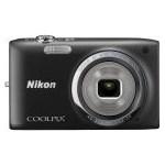 Aparat foto compact Nikon COOLPIX S2700 negru + Card Lexar 4GB + Husa