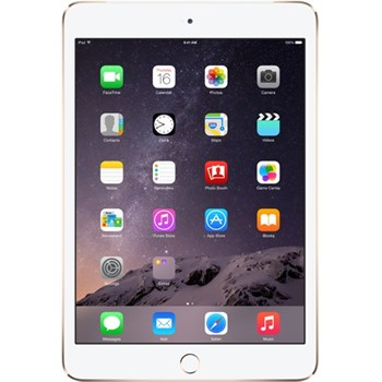 "Apple iPad mini 3 Cellular, 7.9"", 64GB, Dual-Core A7, 4G, Silver"