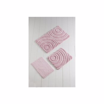 Set covorase baie Chilai Home by Alessia, 3 Piese, 351ALS2020, Roz