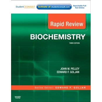 Rapid Review Biochemistry With STUDENT CONSULT Online Access: Biochimie Pelley (Rapid Review)