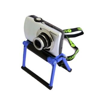 Gary Fong Flip-Cage albastru - Stand pentru aparate foto compacte