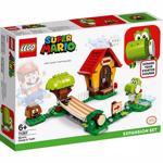 LEGO Mario: Set de extindere Casa lui Mario si Yoshi 71367, 6 ani+, 205 piese