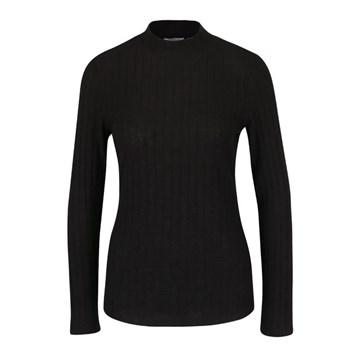 Bluza neagra cu nervuri ONLY Great Ripena