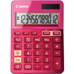 Calculator de birou Canon LS-123K Pink