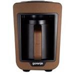 Aparat pentru preparat cafea turceasca Gorenje ATCM730T, 730W, 270 ml, Negru/Maro