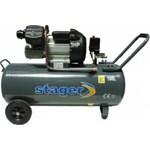 Compresor Aer Profesional Stager HM3100V - 2.2kW, Debit aer 356L/min, 8bar, Capacitate rezervor 100L