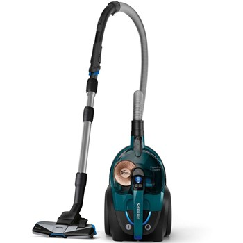 Philips Aspirator fara sac PowerPro Expert FC9744/09, 650 W, 2 l, TriActive+, tub telescopic, clasa A+, verde