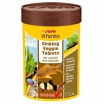 Hrana Vegetala pentru Pesti Sera Viformo 100 ml, 258 Tablete