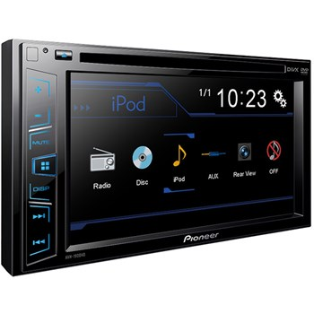 """Multimedia player auto Pioneer AVH-190DVD, 2DIN, 6.2"""" Touchscreen, 4x50W, USB, AUX, iPod direct control"""
