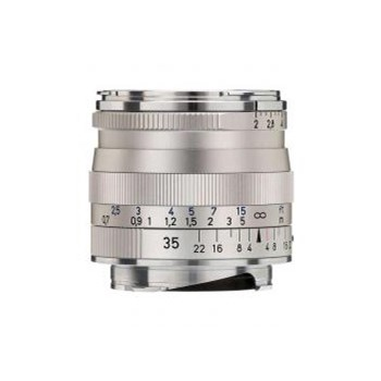 Carl Zeiss Biogon T* 35mm f/2 ZM (baioneta Leica M, argintiu)