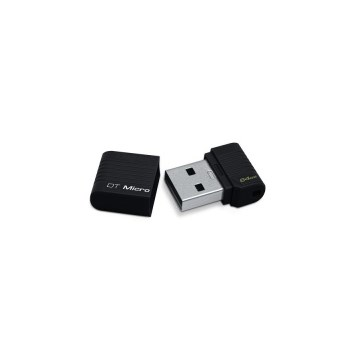 USB 2.0 Kingston DataTraveler Micro HI-Speed negru