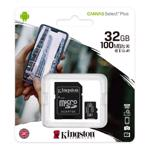 Card de memorie Kingston MicroSDHC, Class 10, 32GB