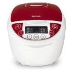Multicooker Tefal Fuzzy Logic RK705, 750 W, 3.5 l, Programe automate, Timer, Alb/Rosu