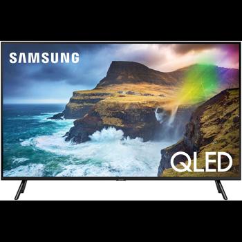 Televizor Smart QLED, Samsung QE55Q70R, 138 cm, Ultra HD 4K