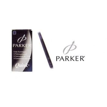 Patroane cerneala Parker,lungi,negru,5buc/set