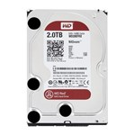 Hard disk WD Red 2TB SATA-III 5400RPM 64MB