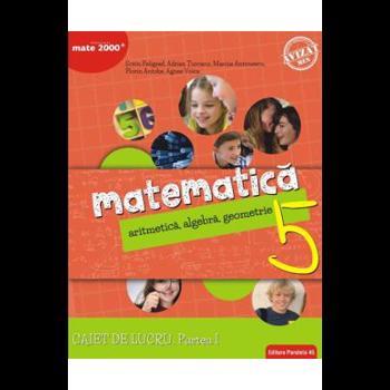 Matematica. Caiet de lucru clasa a V-a. Consolidare. Partea I