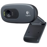 Camera Web Logitech C270 black