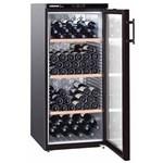 Liebherr Vitrina pentru vin WKb 3212, 309 L, Clasa A, Negru