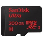 Card memorie SanDisk SDXC Ultra UHS-I Clasa 10 200GB 90 MB/s + Adaptor SD