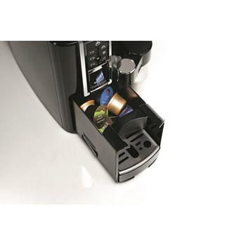 Aparat de cafea, 1.0L, rosu, 15 bar, Espressor TCHIBO Cafissimo Latte