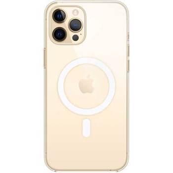 Protectie Spate Apple MHLN3ZM/A pentru Apple iPhone 12 Pro Max (Transparent)