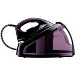 Fier de calcat Philips FastCare, 2400W, presiune 5.5 Bar, violet, statie de calcat