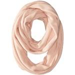 Calvin Klein Textured Stripe Infinity Scarf Culoarea Blush