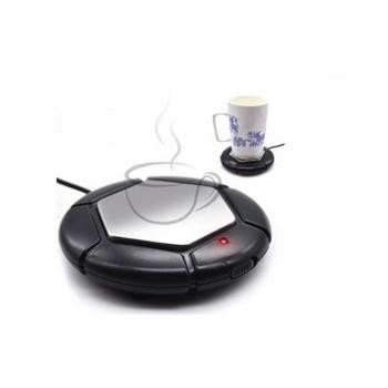 Incalzitor pentru ceai, cafea cu conexiune USB, ideal pentru birou