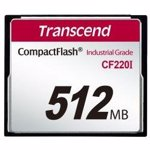 Card Memorie Transcend Industrial CF CF220I 512MB ts512mcf220i