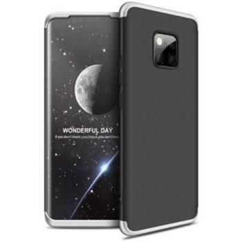 Husa de protectie GKK 360 pentru Huawei Mate 20 Pro, Argintiu/Negru