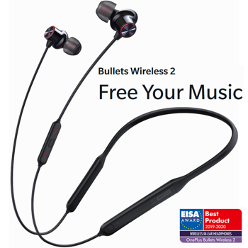 Casca bluetooth OnePlus Bullets Wireless 2: Free Your Music