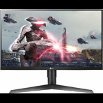 "Monitor gaming LED IPS LG 27"", Full HD, Display Port, 144Hz, G-Sync, FreeSync, Negru"