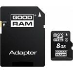 Card de Memorie Goodram MicroSD 8GB Clasa 4 + Adaptor smc00704