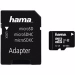 Card de memorie Hama 124139 MicroSDHC, 32GB, Clasa 10 + Adaptor