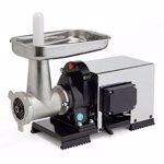 Masina de tocat carne semi-profesionala Reber 9504 NSP, nr. 32, 1200 W, 100-160 kg/h, accesorii inox + fonta