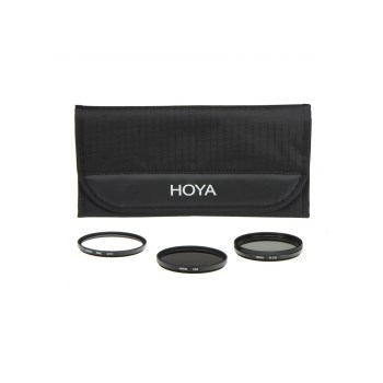 Set filtre Hoya Digital UV HMC + Polarizare Circulara + ND x8 43 1048377
