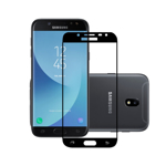 Folie sticla securizata fullsize pentru Samsung J3 2017 SM-J330F (versiune Europa) negru