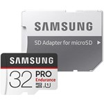 Samsung 32 GB PRO Endurance MicroSDHC Memory Card with SD Adapter