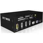 Card reader RaidSonic Cititor carduri IcyBox 5.25''-panou Multiport, 60 tipuri card, USB 3.0, eSATA