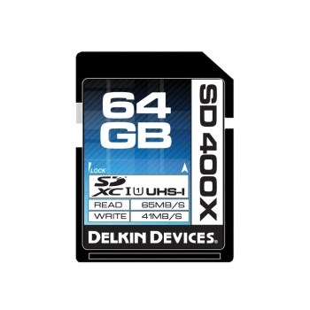 Card Delkin SDXC Better 64GB UHS-I 400x